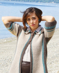Cashmere Queen Yarn Reflections Jacket Pattern FREE Download at Mondaes Makerspace & Supply