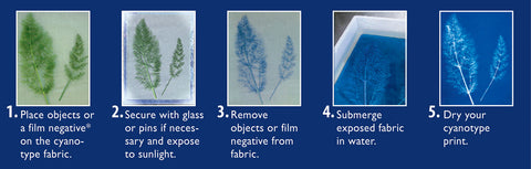 FREE Cyanotype Instructions and Tips at Mondaes Makerspace & Supply