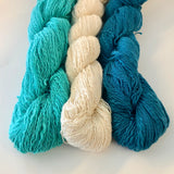 Market Bag Kit Knit-Along Kit # 1: Aquas