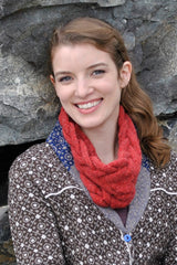 FREE Rippling River Cowl Pattern in SimpliCria by Hikoo @ Mondaes Makerspace & Supply!