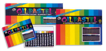 Niji Oil Pastel Sets by Yasutomo