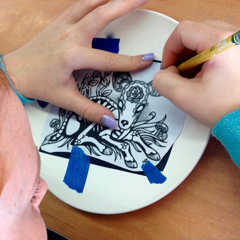 6/24: Ceramic Painting + Molds