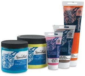 Speedball Block Printing Ink, Water Soluble