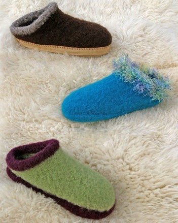 Adult Felt Clogs