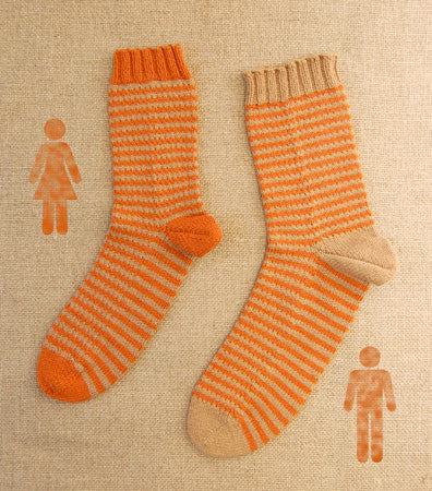 Tom & Ethel Socks Pattern