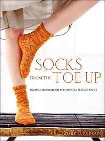 """Socks from the Toe Up"" by Wendy D. Johnson"