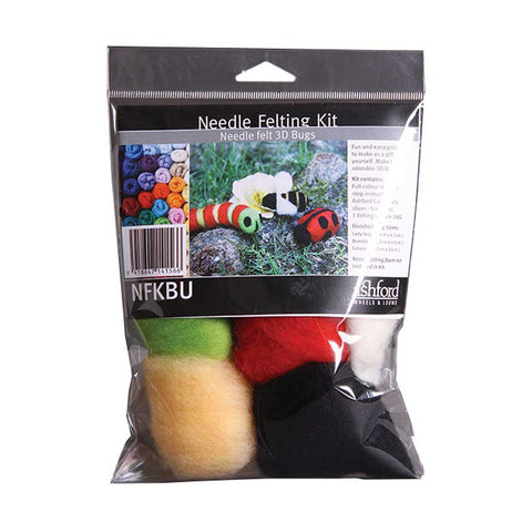 3D Bugs Needle Felting Kit by Ashford