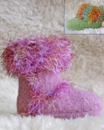 Children's Felt Alpine Boot