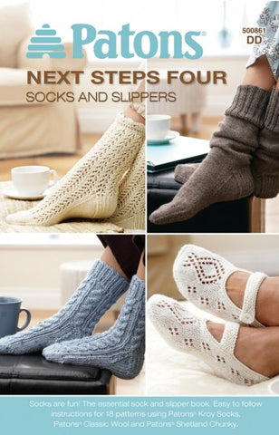 Next Steps Four- Socks And Slippers