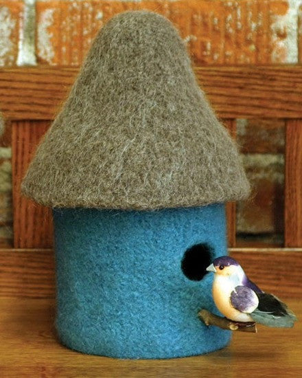 Fiber Trends® Felt Birdhouses Pattern by Lisa Runstrom