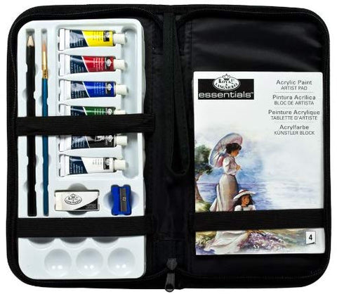 Keep 'N Carry Acrylic Set & Case by Royal & Langnickel