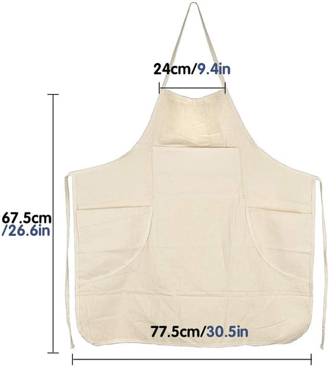 Heavy Full-Size Canvas Artists & Potter's Apron