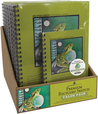 Premium Recycled Sketch Pads, Sheets, & Rolls by Bee Paper