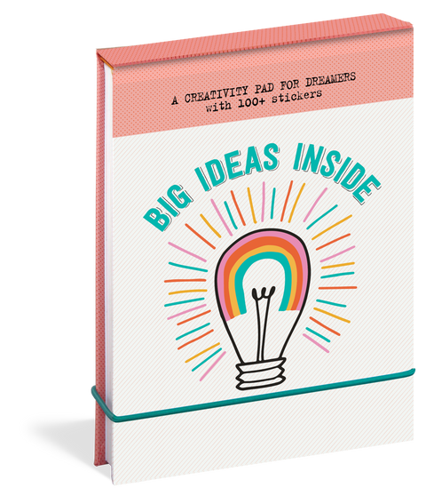 Big Ideas Inside: A Creativity Pad For Dreamers