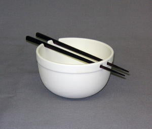 Rice Bowl with Chopsticks