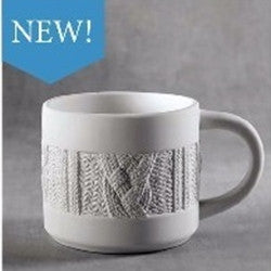 Cozy Sweater 20 oz Soup Mug