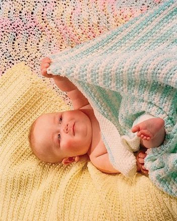 Easy Crochet Baby Blankets Collection 1