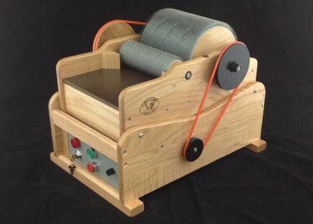 Clemes Elite Drum Carder, Convertible to Electric