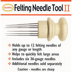 Colonial Multi Needle Felting Tools, 6 & 12 Needle