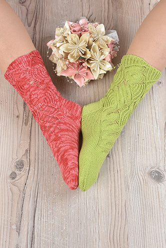 Fan Dance Lace Sock Knit-Along: Join Anytime from Anywhere!