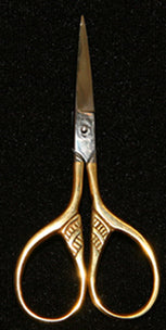 Feather Gold Embroidery & Craft Scissors