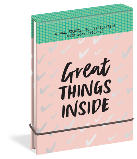 Great Things Inside: A Goal Tracker for Visionaries