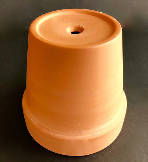 Terracotta Flower Pot, 3.5""