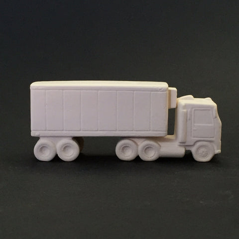 Two Piece Vintage Semi-Truck & Trailer