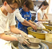 6/17: Pottery Clay + Wheel