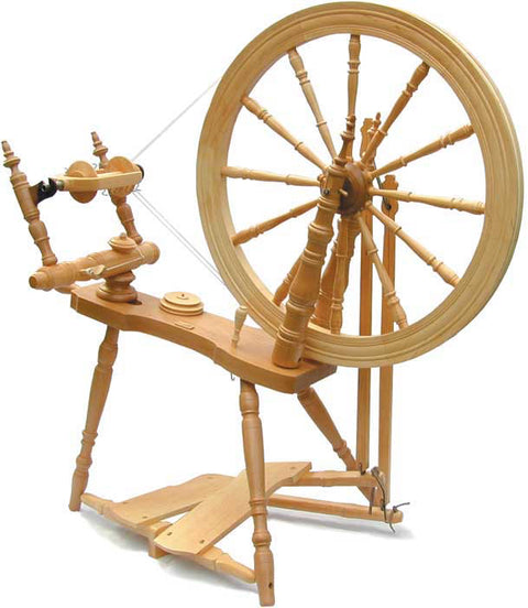 Step 1 Spinning: Yarn On The Wheel