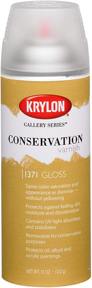 Krylon Gallery Series Conservation Varnish: Matte & Gloss