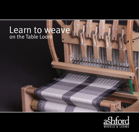 Learn To Weave On The Table Loom booklet by Ashford