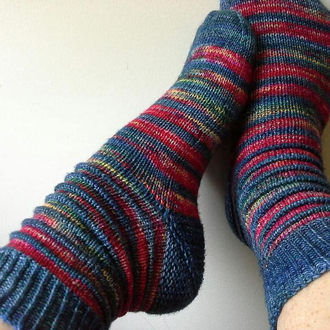 Step 3 Knit Class: Toe-Up Socks, 2-At-A-Time