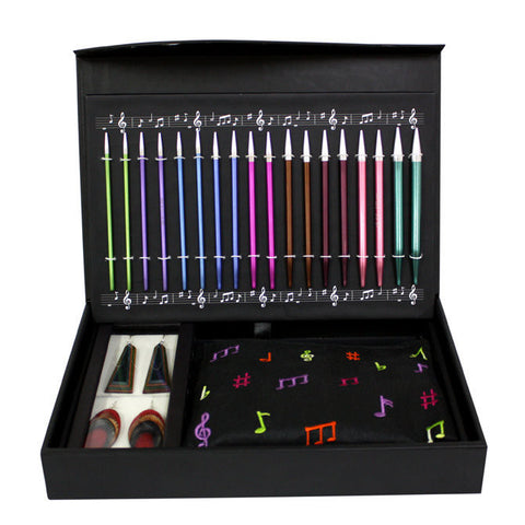 Melodies Of Life Zing Needles Interchangeable Holiday Gift Set by Knitter's Pride