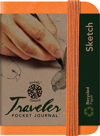 Sketch AF Traveler Pocket Journals by Pentalic