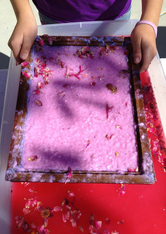 6/14: Art Paper Making for Kids & Youth