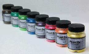 Pearl Ex Powdered Pigments by Jacquard