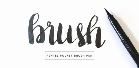 Pentel Pocket Brush Pen & Refills