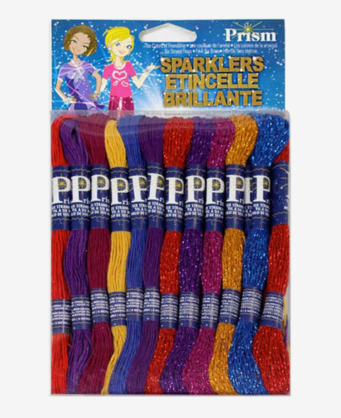 DMC Prism Sparklers Embroidery Floss Thread 24 Packs