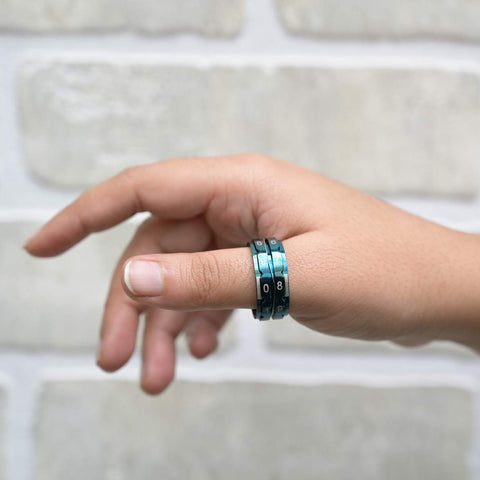 The Mindful Collection: Row Counter Rings