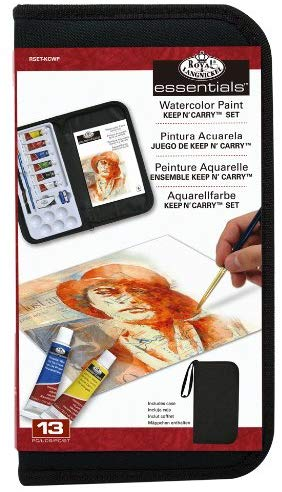 Keep 'N Carry Watercolor Set & Case by Royal & Langnickle