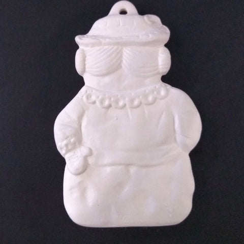 Snowman with Gift Ornament