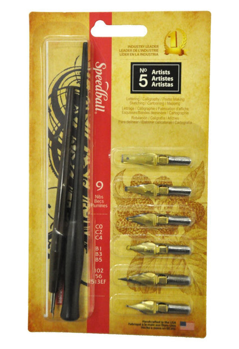 Speedball Calligraphy Pen & Nib Sets