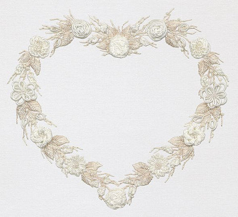 """Wedding Wreath"" Brazilian Embroidery Kit by EdMar"