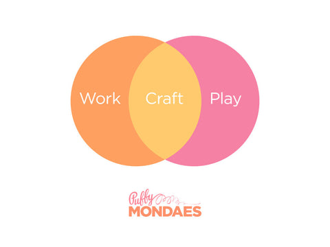 Work Craft Play Tee, Youth Sizes, in Peach/Orange