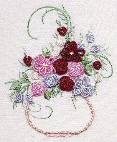 """Centerpiece"" Brazilian Embroidery Kit by EdMar"