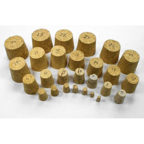 Natural Tapered Cork Stoppers