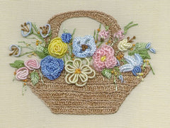"""Country Basket"" Brazilian Embroidery Kit by EdMar"