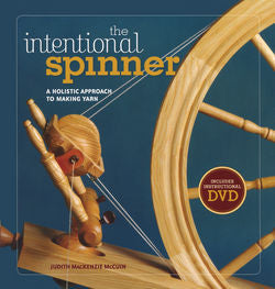 """The Intentional Spinner"" by Judith MacKenzie, w/ or w/o DVD"