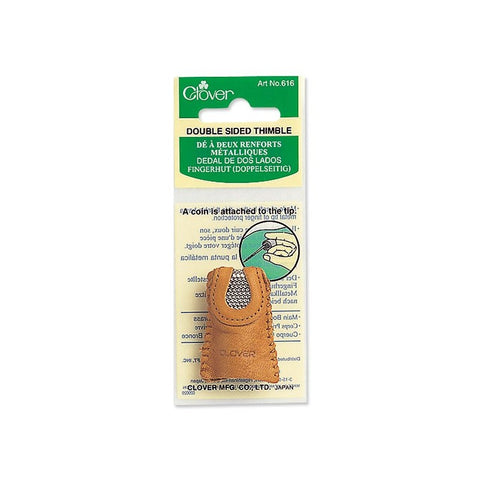 Clover Double-Sided Coin Thimble